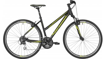 Bergamont Helix 3.0 Lady 28 Hybrid Komplettbike Damen-Rad black/lime (matt) Mod. 2017