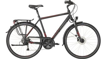 "Bergamont Horizon 4.0 Gent 28"" Trekking 整车 型号 black/red/grey (matt) 款型 2018"