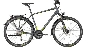 "Bergamont Horizon 7.0 Gent 28"" Trekking 整车 型号 grey/green (matt) 款型 2018"
