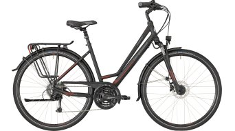 "Bergamont Horizon 4.0 Amsterdam 28"" Trekking 整车 型号 black/red/grey (matt) 款型 2018"