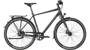 "Bergamont Vitess N8 Belt Gent 28"" Trekking 整车 型号 black/dark silver (matt) 款型 2018"