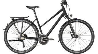 "Bergamont Horizon 9.0 Lady 28"" Trekking 整车 女士-Rad 型号 black/black/dark grey (matt/shiny) 款型 2018"
