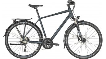 "Bergamont Horizon 7.0 Gent 28"" Trekking 整车 型号 dark grey/black/blue (matt) 款型 2019"