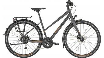 """Bergamont Vitess 6.0 Lady 28"""" Trekking 整车 女士-Rad 型号 dark grey/橙色 (matt) 款型 2019"""