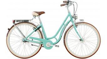 Diamant Topas Villiger 28 City Komplettbike Damen-Rad Schwan lichtblau Mod. 2016