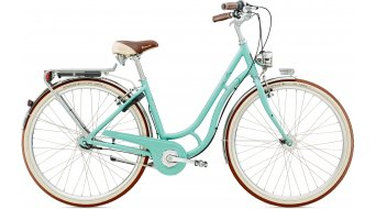 Diamant Topas Villiger 28 City bici completa Señoras-rueda Schwan lichtblau Mod. 2016