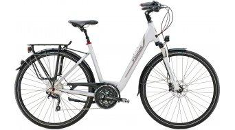 Diamant Ubari Sport 28 Trekking bici completa Señoras-rueda Tief alpinweiss color apagado Mod. 2016