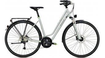 Diamant Elan Deluxe 28 Trekkingbike bici completa Señoras-rueda Wiege morgentau metallic Mod. 2016