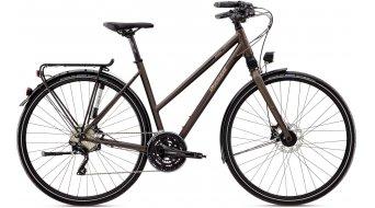 Diamant Elan Super Legere 28 Trekkingbike bici completa Señoras-rueda GOR graphit metallic Mod. 2016
