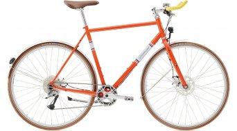 Diamant 019 28 City bici completa da uomo . spectarl arancione mod. 2017