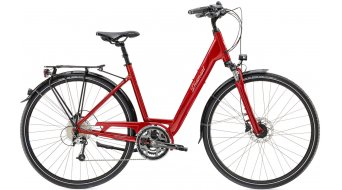 Diamant Ubari Esprit T 28 Trekking bici completa Señoras-rueda indischrot metallic Mod. 2017