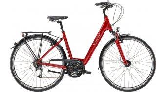 Diamant Ubari Komfort T 28 Trekking bici completa Señoras-rueda indischrot metallic Mod. 2017