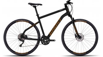Ghost Square Cross 6 Fitnessbike Komplettbike black/orange Mod. 2016