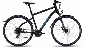 Ghost Square Cross X 2 bici de fitness bici completa negro/lightblue Mod. 2016