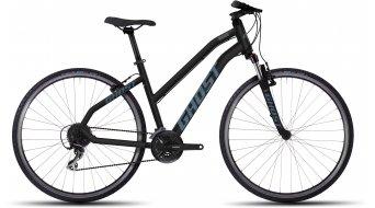 Ghost Square Cross 2 Fitnessbike Komplettbike Damen-Rad black/lightblue Mod. 2016