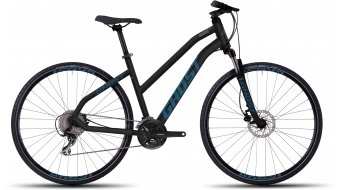 Ghost Square Cross 3 Fitnessbike bici completa da donna . black/blue mod. 2016