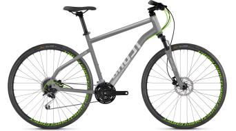 "Ghost Square Cross 2.8 AL U 28"" Fitnessbike 整车 型号 urban grey/palladium silver 款型 2018"