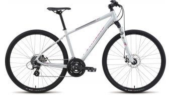 Specialized Ariel Disc Fitnessbike Komplettbike Damen-Rad Gr. L dirty white/pink/charcoal Mod. 2015