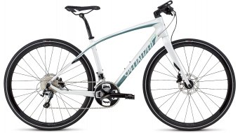 Specialized Vita Comp Carbon Disc Fitnessbike Komplettbike Damen-Rad gloss dirty white/pearl turquoise/charcoal Mod. 2016