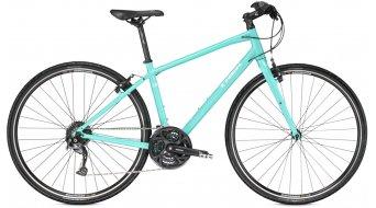 Trek 7.3 FX WSD Fitnessbike bici completa da donna . miami green pearl mod. 2016