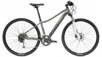 Trek Neko SLX WSD bici de fitness bici completa Señoras-rueda trek charcoal Mod. 2016