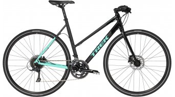Trek Zektor 3 Stagger WSD bici de fitness bici completa Señoras-rueda gloss & matte trek negro/miami verde Mod. 2017