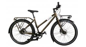 Tout Terrain Metropolitan Trapez Shopper 8s CDC 26 Urban Custom bici completa mis. S olea metallico- fine serie