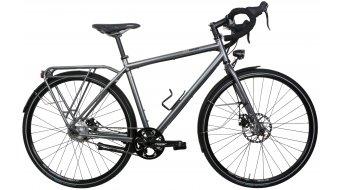 Tout Terrain 5th Avenue GT Rohloff argent vélo randonnée Custom vélo taille M anthracite métallique