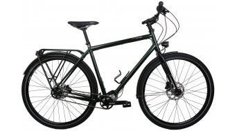 Tout Terrain Tanami Xplore Pinion P1.12 argent vélo randonnée Custom vélo taille L british racing green métallique
