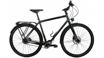 Tout Terrain Tanami Xplore Pinion P1.12 ezüst Reiserad Custom komplett kerékpár Méret L british racing green fémes