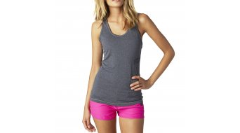 Fox Instant Tank Top sin mangas Señoras-Tank Top Tech Tank tamaño M heather grey