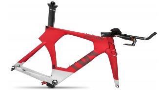 Cervélo P5 Triathlon Rahmenkit Gr. 48cm red/white/red Mod. 2016