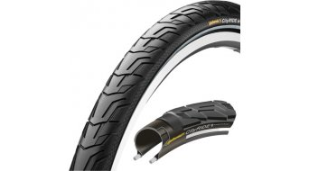 Continental CityRide II PunctureProTection Reflex cubierta(-as) alambre negro(-a) 3/66tpi