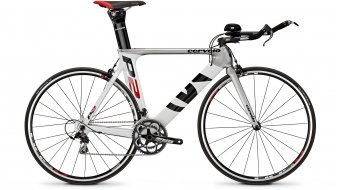 Cervélo P2 105 Triathlon bike silver/white/black/red 2014