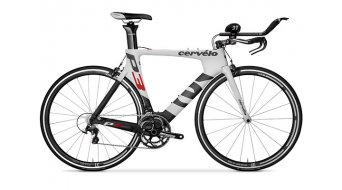 Cervélo P3 Ultegra Triathlonwheel black/white/red 2014