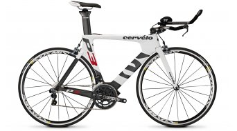 Cervélo P3 Ultegra Di2 Triathlonwheel white/black/red 2014
