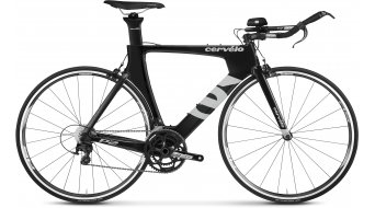 Cervélo P2 105 2x11 Triathlon bike black/grey 2016