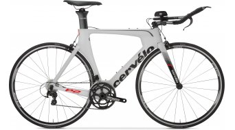 Cervélo P2 105 2x11 Triathlon bike white/black 2016
