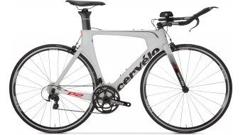 Cervélo P2 105 2x11 Triathlon Komplettbike white/black Mod. 2016