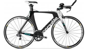 Cervélo P3 Ultegra 2x11 Triathlon Komplettbike black/white Mod. 2016
