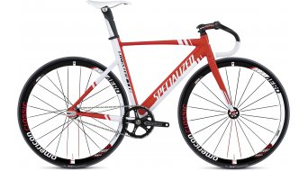 Specialized Langster Pro Bahnrad Gr. 58cm red/white Mod. 2013