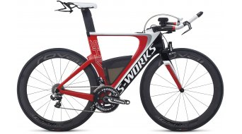 Specialized S-Works Shiv Di2 X2 Triathlonrad Gr. XS red/carbon/white Mod. 2014