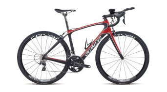 Specialized Alias Pro Da Tri M2 Triathlon Komplettbike Damen-Rad flo red/carbon Mod. 2015