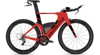 Specialized Shiv Pro Race X1 Triathlon Komplettbike Gr. XS gloss rocket red/black Mod. 2016