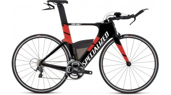 Specialized Shiv Expert Triathlon Komplettbike Gr. XS gloss carbon/rocket red Mod. 2016