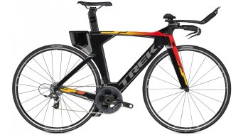 Trek Speed Concept 9.5 Triathlon bike size S black pearl/viper red to goldenage fade 2016