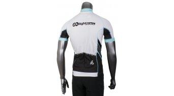 AX Lightness Premium Full-Zip maglietta manica corta mis. S nero/bianco/blu