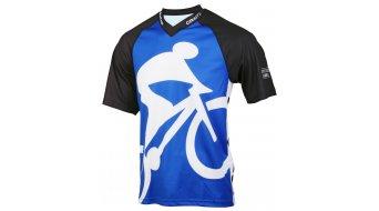 """Craft HIBIKE """"Hauptsache Fahrrad."""" maglietta manica corta uomini- maglietta Loose fit mis. XS blu"""
