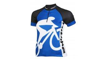 Craft HIBIKE Hauptsache Fahrrad Trikot kurzarm Damen-Trikot blau
