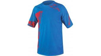 Endura Singletrack Print maillot manches courtes hommes-maillot VTT taille XXL ultramarine